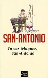 Couverture Tu vas trinquer, San-Antonio