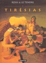 Couverture L'Outrage - Tirésias, tome 1