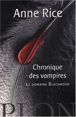 Couverture Le Domaine Blackwood - Chroniques des vampires, tome 9