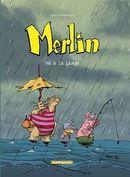 Couverture Va à la plage - Merlin, tome 3