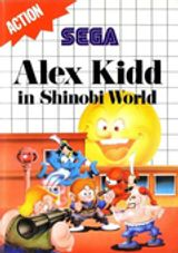 Jaquette Alex Kidd in Shinobi World