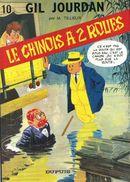 Couverture Le Chinois à 2 roues - Gil Jourdan, tome 10