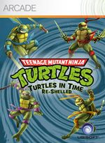Jaquette Teenage Mutant Ninja Turtles : Turtles in Time Re-Shelled