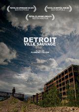 Affiche Detroit, ville sauvage
