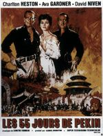 Affiche Les 55 Jours de Pékin