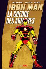 Couverture Iron Man : La Guerre des armures