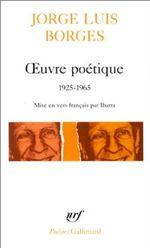 Couverture Oeuvre poétique 1925-1965