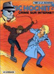 Couverture Crime sur Internet - Ric Hochet, tome 60