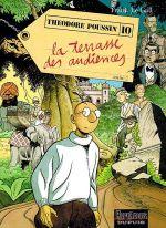 Couverture La Terrasse des audiences, 2ème partie - Théodore Poussin, tome 10