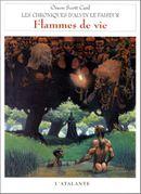 Couverture Flammes de vie - Les Chroniques d'Alvin le Faiseur, tome 5