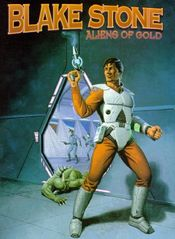 Jaquette Blake Stone : Aliens of Gold