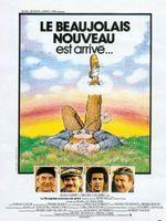 Affiche Le beaujolais nouveau est arrivé
