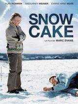Affiche Snow Cake