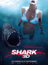 Affiche Shark 3D