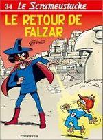Couverture Le Retour de Falzar - Le Scrameustache, tome 34