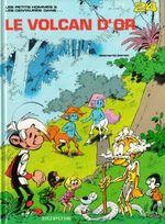 Couverture Le Volcan d'or - Les Petits hommes, tome 24