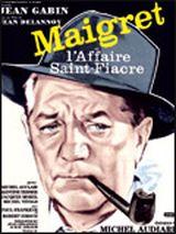 Affiche Maigret et l'affaire Saint-Fiacre