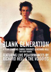 Affiche Blank Generation
