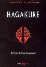 Couverture Hagakure, écrits sur la voie du samouraï