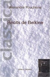 Couverture Récits de feu Ivan Pétrovitch Belkine