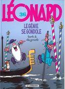 Couverture Le génie se gondole - Léonard, tome 36