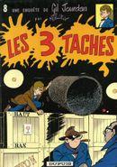 Couverture Les 3 Taches - Gil Jourdan, tome 8