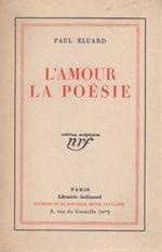 Couverture L'Amour la poésie