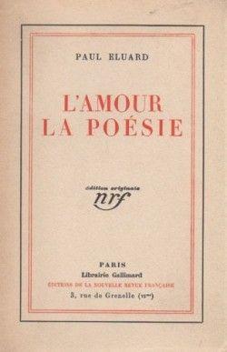 L Amour La Poésie Paul Eluard Senscritique