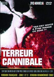 Affiche Terreur Cannibale