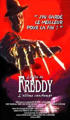 Affiche La Fin de Freddy : L'Ultime Cauchemar