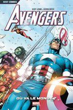Couverture Avengers : Où va le monde ?
