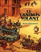 Couverture Conversation avec un margouillat - Le Landais volant, tome 1