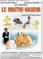 Affiche Le Maitre-nageur