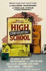 Affiche High School Confidential!