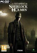 Jaquette Le Testament de Sherlock Holmes
