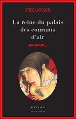 Couverture La Reine dans le palais des courants d'air - Millénium, tome 3