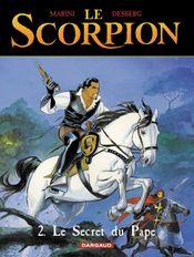 Couverture Le Secret du pape - Le Scorpion, tome 2