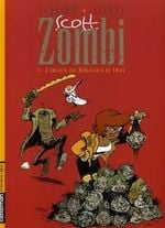 Couverture L'amicale des Réducteurs de Têtes - Scott Zombi, tome 3
