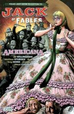 Couverture Americana - Jack of Fables, tome 4