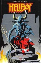 Couverture Hellboy : Histoires bizarres, tome 3