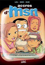 Couverture Accros d'MSN