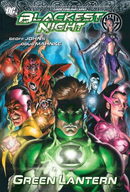 Couverture Blackest Night: Green Lantern