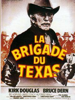 Affiche La Brigade du Texas