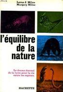 Couverture L'Equilibre de la Nature