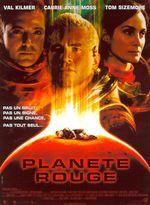 Affiche Planète rouge