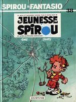 Couverture La Jeunesse de Spirou - Spirou et Fantasio, tome 38