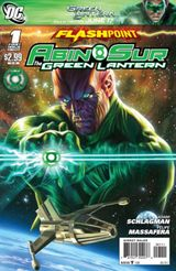 Couverture Flashpoint: Abin Sur - The Green Lantern