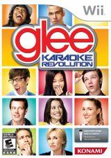 Jaquette Karaoke Revolution Glee
