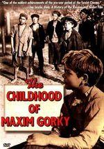 Affiche L'Enfance de Gorki
