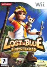 Jaquette Lost in Blue : Shipwrecked